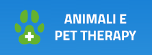 Canale animali e pet therapy